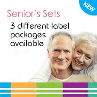 Senior's Label Sets