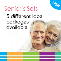 Senior's Label Sets