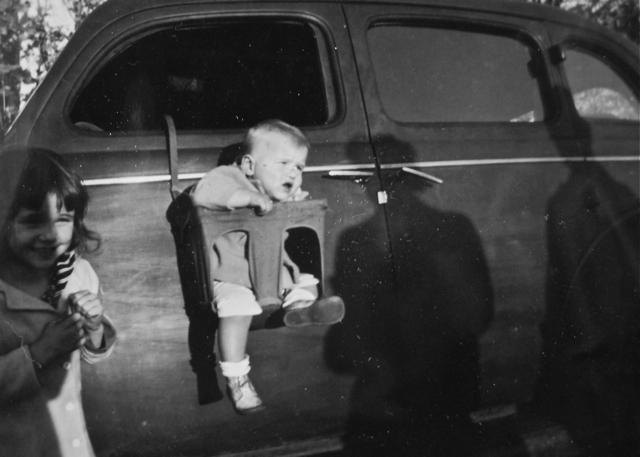 1940s 1950s kids children vintage photograph black and white s&s4